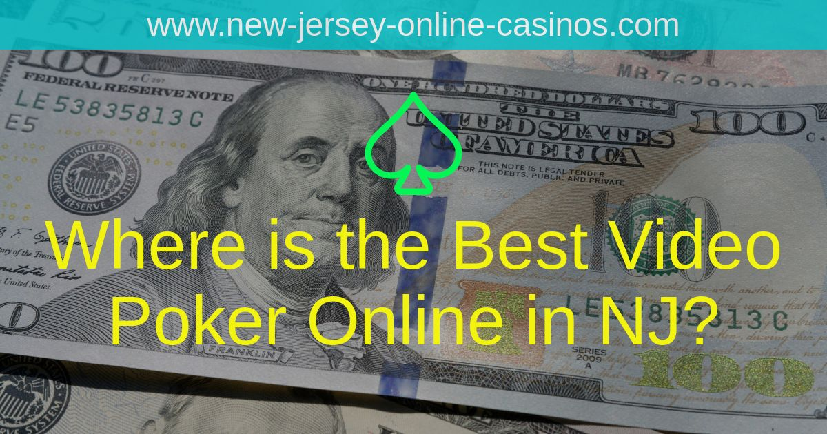 Title Image - Where is the Best Video Poker Online in NJ?