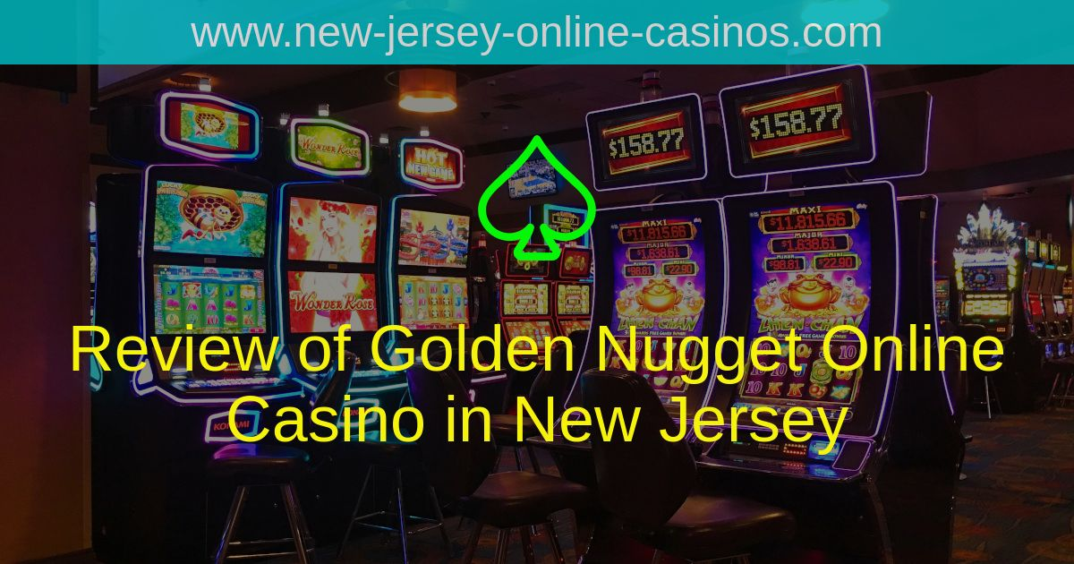 Title Image - Review of Golden Nugget Online Casino in New J
